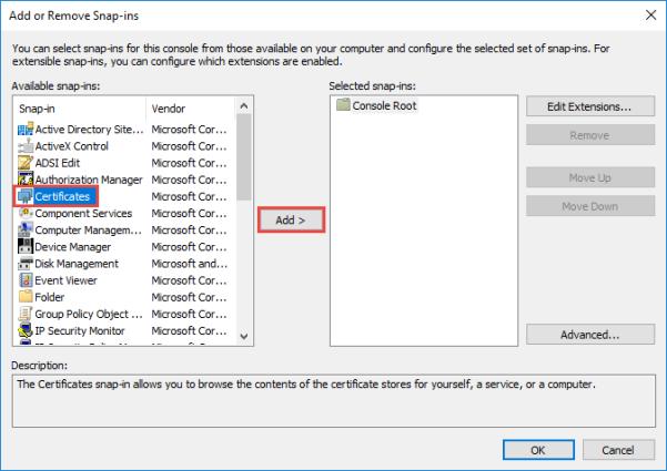 VMware Horizon 7 SSL Certificates – vPractices