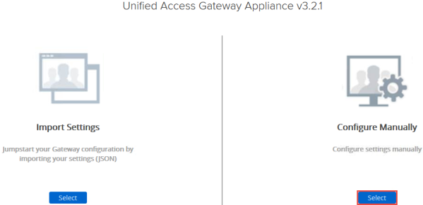 VMware Unified Access Gateway (UAG) Configuration